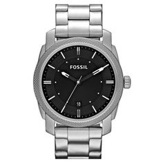 Fossil 'Machine' Bracelet Watch