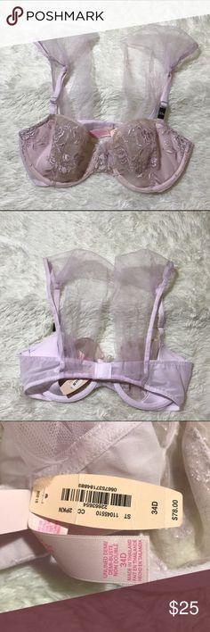 VS 34D Unlined Demi Bra Unlined Victoria's Secret Intimates & Sleepwear Bras