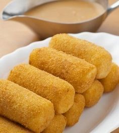 Banana Croquettes is a delicious Indian recipe served as a Snacks. Find the complete instructions on Bawarchi Easy Cooking, Cooking Recipes, Chicken Croquettes, Ramadan Recipes, Ramadan Food, Tea Time Snacks, Dutch Recipes, Indian Food Recipes, Love Food