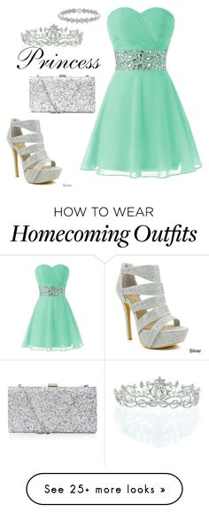 """Fit for a Princess"" by recklessndivine on Polyvore featuring Celeste and Kate Marie"