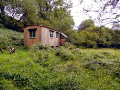"""A tiny house in the woods of The Black Mountains, Wales. Photos by Tiffany Farrant-Gonzalez."""" …See Inside this Tiny House"""