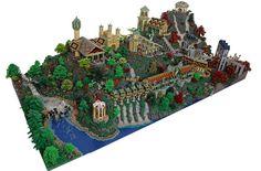200,000块乐高积木,拼出来的《魔戒》里的瑞文戴尔!