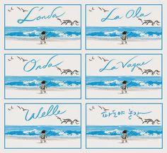 Páginas interiores del cuento La Ola ilustrado por Suzy Lee. http://libros-cuentos-infantiles-juveniles.elparquedelosdibujos.com/2015/02/cuanto-la-ola-ilustrado-por-suzy-lee.html