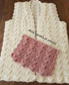 Ideas For Crochet Heart Hat Pattern Free Knitting Cable Knitting Patterns, Knitting Stiches, Lace Knitting, Knitting Designs, Crochet Lace, Crochet Patterns, Diy Crafts Crochet, Knit Vest Pattern, Knitted Slippers