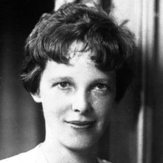 Amelia Earhart became the first woman to fly over the Atlantic Ocean in 1928.  She was also the first person to fly over both the Atlantic and the Pacific Oceans.  Earhart disappeared in 1937 while attempting to circumnavigate the globe.