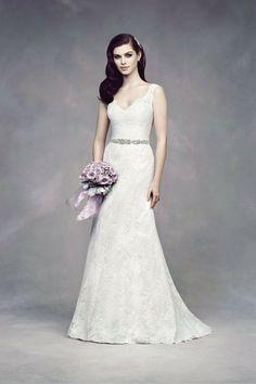 Style #4305 Chantilly Lace wedding dress I @Paloma Blanca I See more @WeddingWire http://www.weddingwire.com/wedding-photos/dresses/paloma-blanca/i/731ce3c10e4acaa9-4cf9878182e86154/54f32eddc9618e5a
