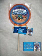 Skylanders Personalized Chocolate Lollipop or Cookie Favor