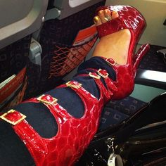 Red High Heel Boots, High Heels, Shauna Sand, Sexy Toes, High Top Sneakers, Model, Shoes, Fashion, Moda