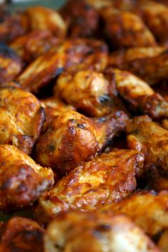 Spicy Chicken Wings - Cook first, marinate after over night
