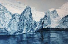 Groelândia por Zaria Forman.