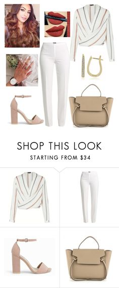 """""""Untitled #2944"""" by outfitstowear ❤ liked on Polyvore featuring Basler and Nly Shoes"""