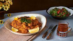 Vyskladajte si výživnú kombináciu kuracích rezňov s polníčkovým šalátom podľa Romanovho receptu. Tandoori Chicken, Curry, Ethnic Recipes, Curries