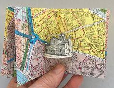 Shop Artist Books - Website of found-object-art! Casa Pop, Pop Up Art, Paper Pop, Found Object Art, Handmade Books, Art Journal Inspiration, Book Making, Altered Books, Book Art