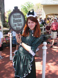 Haunted Mansion Maid