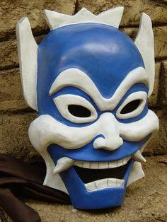 Blue Spirit Mask Avatar The Last Airbender Prop by WickedArmor