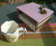 Porta tovaglioli   Hobby e Creativita' Realizzare un porta tovaglioli da una scatola di sigari.... si può!