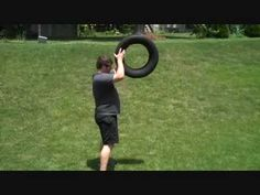 Car Tire Exercise - YouTube