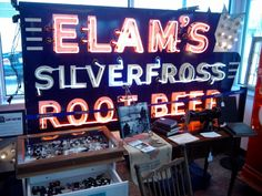 """Decatur Drive-In Antiques"" is the new home of the old Elam's Sign"
