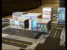 Love this idea. Downloadable cardboard roads and buildings. (Could be worth looking at doing some UK stuff)