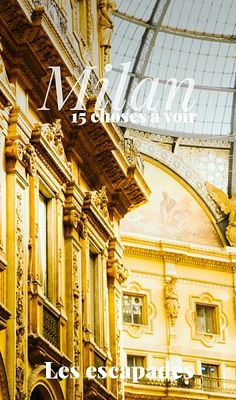 15 choses à voir à Milan #italy #italie #milan #milano #voyage #travel  ✈✈✈ Don't miss your chance to win a Free Roundtrip Ticket to Milan, Italy from anywhere in the world **GIVEAWAY** ✈✈✈ https://thedecisionmoment.com/free-roundtrip-tickets-to-europe-italy-milan/