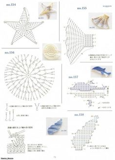 Irish lace, crochet, crochet patterns, clothing and decorations for the house, crocheted. Appliques Au Crochet, Crochet Motifs, Freeform Crochet, Crochet Diagram, Crochet Chart, Thread Crochet, Irish Crochet, Crochet Doilies, Crochet Stitches