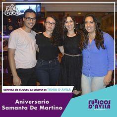 Acompanhe os Clicks da comemoração de aniversário da Samanta De Martino na coluna Fuxicos Davila na Revista DÁvila. http://ift.tt/1UOAUiP (link na bio).