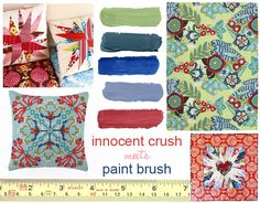 Anna Maria Horner's web shop - beautiful and eclectic fabrics and patterns from her collection.