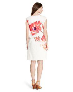 Lauren - Floral-Print Crepe Dress
