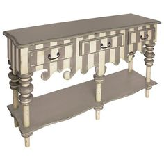 I pinned this Rococo Server from the Sunday Brunch event at Joss and Main!  FUN paint!