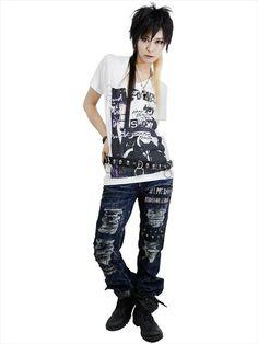 CDJapan : PROUD V-Neck Cutsew (S) SA69845-10102 SEX POT ReVeNGE APPAREL. See more at: http://www.cdjapan.co.jp/apparel/ #punk #japanesefashion