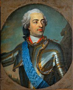 LOUIS XV (1710 - 1774), Roi de France et de Navarre entre 1715 et 1774. / By P.C. Prévost, ca. 1745-46