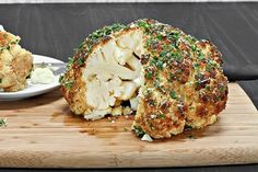 Seasoned Whole Roasted Cauliflower