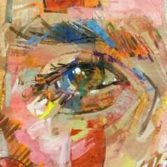 Andrew Salgado continues to develop his artistic talents, effortlessly producing multi-faceted, vibrant paintings on a regular basis. Eye Painting, Painting People, Painting Abstract, Abstract Portrait, Portrait Art, Advanced Higher Art, Art Alevel, A Level Art, Collage Artists