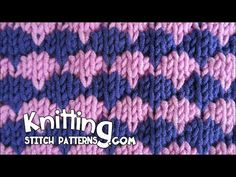 The Dip-stitch Check is easy and fun to do. All you need to know is the knit, purl and dip stitches. Watch video to learn how to knit. ++ Detailed written in...