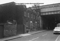 Centaur Street, Lambeth 1975
