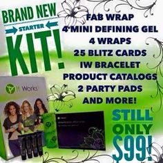 Come #joinmyteam !!!!!!! This is the new business builder kit!! Only $99 for the kit, get your wraps, sell for $25 a piece(regular retail) and VOILA! You have your $$ back!! Plus we have an AWESOME bonus to top it off! Text me for more details!! 304-972-7597
