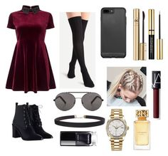 """""""Untitled #7"""" by unicorn221 on Polyvore featuring Miss Selfridge, Zimmermann, Seafolly, Dolce&Gabbana, NARS Cosmetics, Tory Burch, Humble Chic and Rolex"""
