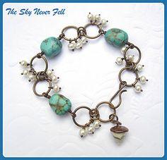Bead Soup bracelet autumn 2011  #handmade #jewelry #beading