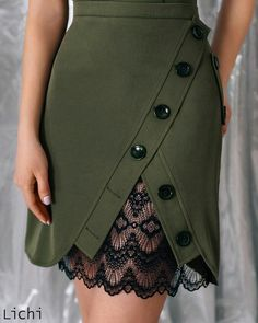 Skirt design outfit Ideas for 2019 Mode Outfits, Skirt Outfits, 30 Outfits, Fashion Pants, Fashion Dresses, Fashion Shoes, Fashion Clothes, Color Fashion, Dresses Dresses