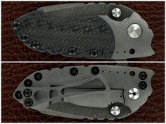 DIREWARE Custom Knives Deluxe S-90 Flipper