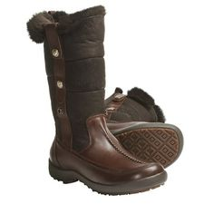 Blondo Mountain Boots - Waterproof Leather (For Women) in Med Brown Marone Smooth