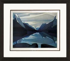 Maligne Lake - Numbered By Artist | Group Of Seven | Framed Art | Wall Decor | Art | Picture | Home Decor