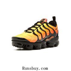 the best attitude cb36c 82e22 Nike Air Vapormax TN Plus 2018 Yellow Black Men Running Shoes