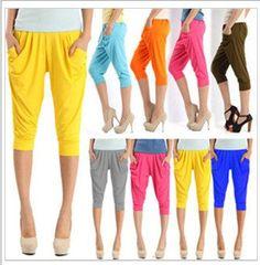 2013 New Fashion Harem Pants for Women's Ladies Skinny Capris Short Summer Trousers WHF34 on Etsy, $6.59