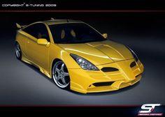 Toyota Celica T23 Komplettvers Spoiler Set Body Kit Tuning Umbau neu Verbau