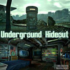 Αποτέλεσμα εικόνας για Underground Hideout New Vegas