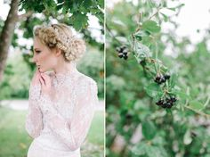 Botanical bridal shoot in Tuorla, Finland. Follow the link to see the article & creative team. Photo: willowvisuals.com Bridal Session, Bridal Shoot, Norwegian Wedding, Finland, Wedding Dresses, Link, Creative, Photography, Inspiration