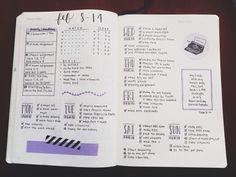 dashboard bullet journal