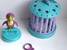 Vintage Littlest Pet Shop (Had it! And wore it around on that ring too!)