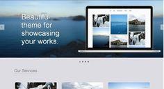 WordPress Theme In Action